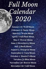 Wiccan Moon Chart Moon Calendar 2020 Moon Calendar Moon Witch Moon
