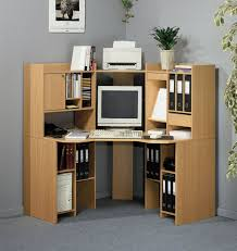 home office workspace wooden furniture. Plywood Corner Computer Desk Design With File Storage Cabinets For Small Home Office Of Fascinating Workspace Wooden Furniture H