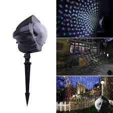 104 Led Snowflake Motion Lights Moving Snowflakes Projector Light 3 6w Projection Spotlight Christmas Lamp Cool Ebay