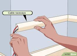 how to hide speaker wires 4 steps