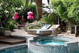own tropical retreat