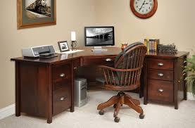 image of small corner office desk furniture