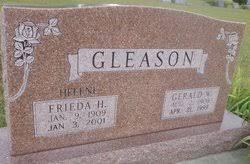 Frieda Helene Ohmstede Gleason (1909-2001) - Find A Grave Memorial