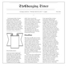 Blank Newspaper Ad Template 5 Handy Google Docs Templates For Creating Classroom Newspapers
