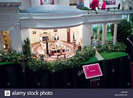 ronald reagan oval office. Scale Model Of The Oval Office In White House On Display At Ronald Reagan Presidential Library, Simi Valley, Ventura, California, USA