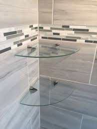 Bluegate Floating Glass Shelves Fascinating Bluegate Floating Glass Shelves Corner Shelving Without The Metal So