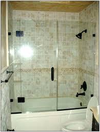 bathtub with glass door bath and shower doors bathtub glass door