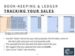 small ledger books accounting and excel notes for small business owners by enactus lse