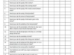 Free Questionnaire Template Customer Survey Questions Templates