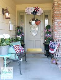 front door decor summerFront Doors  Wonderful Ideas For Decorating Front Door At