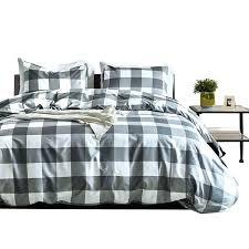 brown plaid comforter grey exquisite bedding home mini set gray black and white checd twin comforte