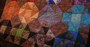 How to Make a Simple Patchwork Quilt | FeltMagnet & My finished patchwork quilt - quick and easy to design and sew. Adamdwight.com