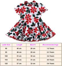 4 Year Girl Dress Size Chart 2019 New Fashion Kids Baby Girls Summer Casual Flower Dress Party Pageant Floral Dresses Sundress Printing Childrens Wear
