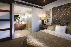 cool resort style bedroom with wooden bed head - bedroom ideas | Home  spaces. | Pinterest | Resort style, Bed heads and Outdoor living