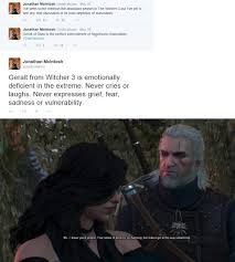 off topic geralt from witcher 3 is perfect example of byronic fremfreq i ur com g0xwswb jpg
