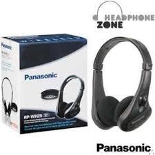 tv headphones wireless. panasonic wireless headphone for tv, lcd, home theatre : rp-wh25e-k tv headphones