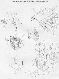 Large frame illustrations ht 18 1886s 05 06 parts list with wiring diagram fmc bolens ht20 garden tractor bolens ht20d