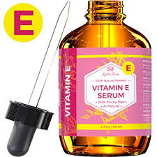 vitamin e serum by leven rose 100 pure organic all natural face dry skin