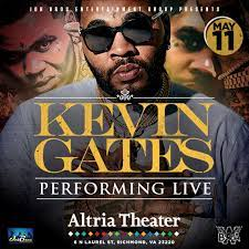 kevin gates altria theater official