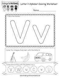 *this post contains affiliate links. Letter V Coloring Worksheet Free Kindergarten English Worksheet For Kids