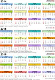 3 Year Calendar Calendars Years Barca Fontanacountryinn Com
