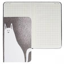 <b>Блокнот</b>-<b>бизнес А6</b> (90*140) <b>80л</b> тв обл 7Бц Cats black-n- white ...
