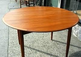 round teak dining table danish modern round dining table vintage danish modern round teak dining table