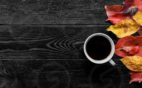 Vintage coffee psd background hot coffee psd background fall leaves brush pack Overhead Flat Lay Photo Of A Cup Of Black Coffee On Wooden Background Fall Autumn Leaves By Marko Klaric Photo Stock Snapwire