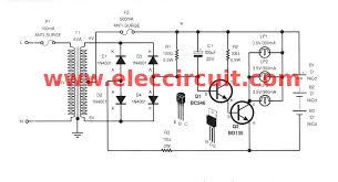 simple emergency light circuit charger com the 30 minutes emergency lighting