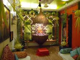 interior design awesome decoration themes for ganesh festival