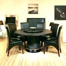 kitchen table lazy susan round