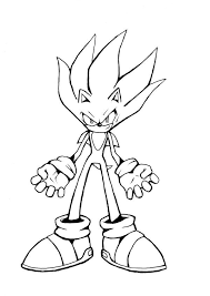 Sonic Coloring Pages Printable Only Coloring Pages