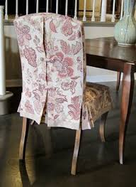 back detail dining chair covers