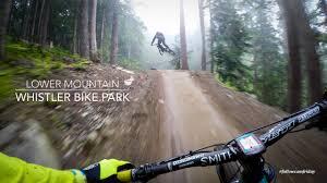 <b>Mountain Biking</b> the lower Whistler Bike Park - YouTube