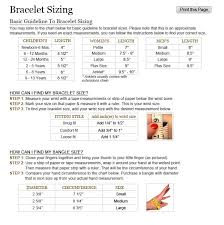 Sizing Information Working With Wire Jewelry Ideas