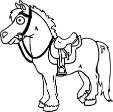 Disegni Cavalli Da Stampare Az Colorare