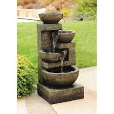 garden fountains home depot. Unique Fountains Hampton Bay Waterford FountainY98563 At The Home Depot Throughout Garden Fountains B