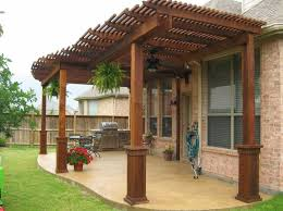 wood patio with pool. Wood Patio Cover Designs \u2013 How To Design Idea Covered Back Within  Wood Patio With Pool N