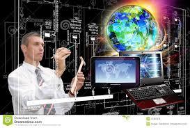 Computer Technology Generation New Computer Technology Stock