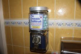 Toothbrush Vending Machine New I've Seen All Manner Of Bathroom Vending Machines But Never A