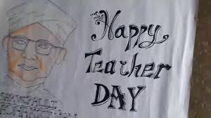 Happy Teachers Day Chart How To Make Teachers Day Chart Youtube