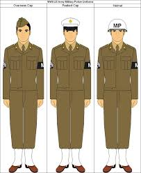 United States Army Military Police School Wwii Us Army Military Police Uniforms By Lockheed5b On Deviantart