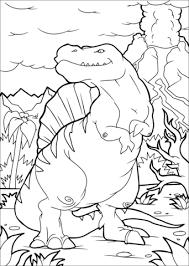Spinosaurus Dino Kleurplaat Gratis Kleurplaten Printen