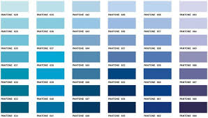 Pantone Color Blue Chart Pantone Color Chart Executive Apparel In 2019 Pantone