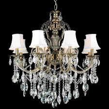 lighting pretty chandelier without lights 0 0001287 30 ottone traditional candle round crystal antique brass finish