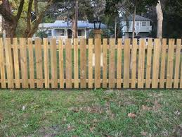 Pictures of wooden fences Ranch Wood Fence Inch Boards With Flat Tops Pinterest St Augustine Fence Wood Chainlink Pvc Aluminum Brock Fence