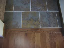 Tile Or Wood Floors In Kitchen Wood Floor To Tile Transition For Kitchen Fascinating Wood Floor