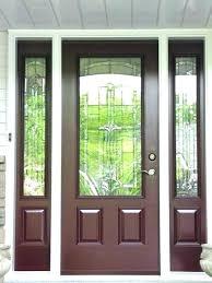 replace door glass insert