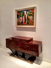 art moderne furniture. commode by eugene printz cubist composition c19101920 lopold survage art moderne furniture
