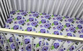 ultra violet baby girl bedding